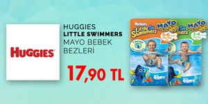 Huggies Little Swimmers Mayo Bebek Bezleri kampanya resmi