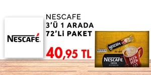 Nescafe Toz Kahve ve Kahve Kremaları kampanya resmi