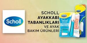 SCHOLL AYAKKABI TABANLARI VE AYAK BAKIM ÜRÜNLERİ kampanya resmi