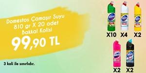 Domestos Bakkal Kolisi Kampanyası kampanya resmi