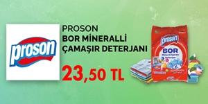 Proson Çamaşır Deterjanları kampanya resmi
