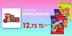 Jelibon Şekerleme Çeşitleri kampanya resmi