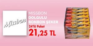 Missbon Dolgulu Şekerler kampanya resmi