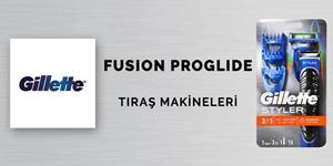 Gillette Fusion Tıraş Makineleri kampanya resmi