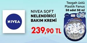 Nivea Soft Nemlendirici Bakım Kremleri kampanya resmi