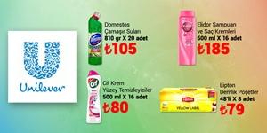 Unilever Fırsat Paketleri kampanya resmi