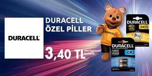 DURACEL ÖZEL PİLLER kampanya resmi