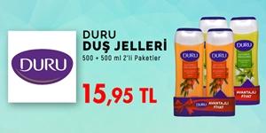 Duru Duş Jeli 2'li Paket Fırsatı! kampanya resmi