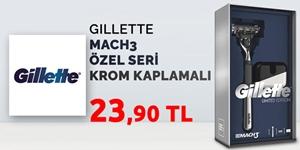 Gillette Mach3 Krom Kaplamalı Özel Seri Tıraş Makinesi kampanya resmi