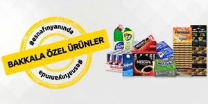 Bakkallara Özel Ürünler kampanya resmi
