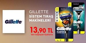 Gillette Sistem Tıraş Makineleri kampanya resmi