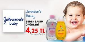 Johnson's Baby Bebek Ürünlerinde Sürpriz Fiyatlar! kampanya resmi