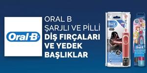 Oral B Şarjlı ve Pilli Diş Fırçaları ve Yedek Başlıklar kampanya resmi