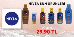 Nivea Sun Ürünlerinde Tek Fiyat kampanya resmi
