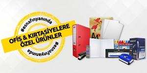Ofis ve Kırtasiyelere Özel Ürünler kampanya resmi