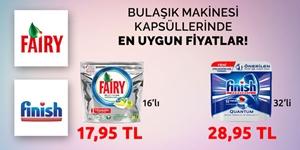 Bulaşık Makinesi Tabletlerinde En Uygun Fiyatlar! kampanya resmi