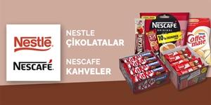 Nestle Çikolatalar ve Nescafe Kahveler kampanya resmi
