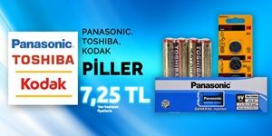 Panasonic, Kodak, Toshiba Pil Çeşitleri kampanya resmi