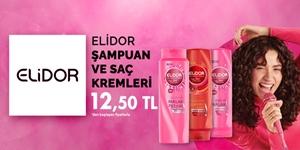 Elidor Şampuan ve Saç Bakım Ürünleri kampanya resmi