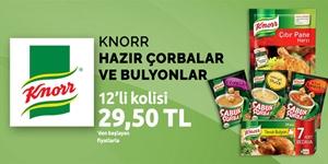 Knorr Çorba ve Bulyon Çeşitleri kampanya resmi