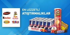 En Lezzetli Atıştırmalıklar kampanya resmi