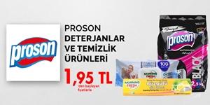 Proson Deterjanlar ve Temizlik Ürünleri kampanya resmi
