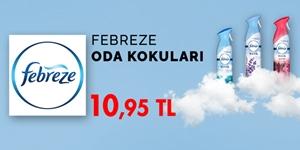 Febreze Oda Kokuları kampanya resmi