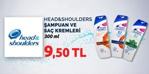 Head&Shoulders Şampuan ve Saç Kremleri kampanya resmi