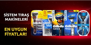 Tıraş Makineleri kampanya resmi