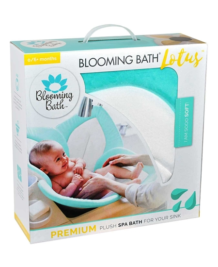 Picture of Blooming Bath Lotus Bebek Banyo Matı Denizköpüğü/Beyaz/Gri