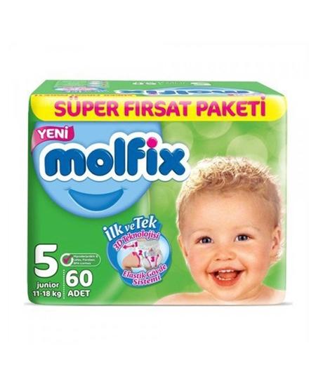 Picture of Molfix Bebek Bezi 60'lı 5 Numara Süper Fırsat Paketi