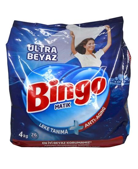 Picture of Bingo Matik Toz Çamaşır Deterjanı 4 Kg Ultra Beyaz