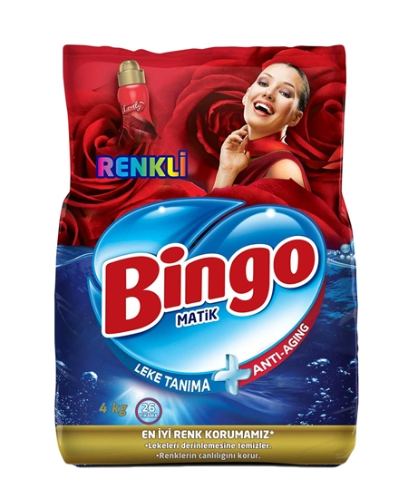 Picture of  Bingo Matic Laundry Powder Detergent 4 Kg Colored