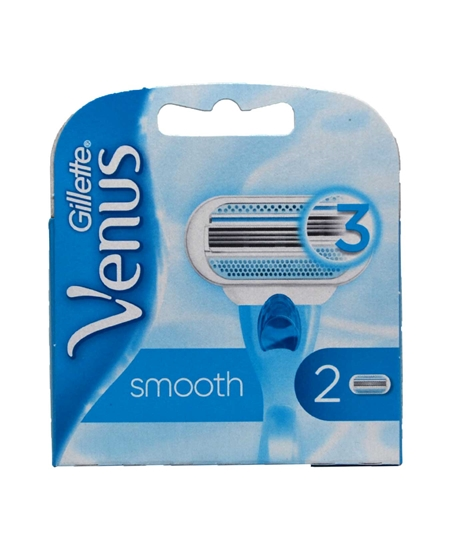 Picture of  Gillette Venus Smooth Refill Razor Blade 2 Pack (OUTLET)
