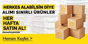 Alım Sınırlı Ürünler kampanya resmi