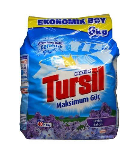 Picture of Tursil Matik Toz Çamaşır Deterjanı 6 Kg Leylak