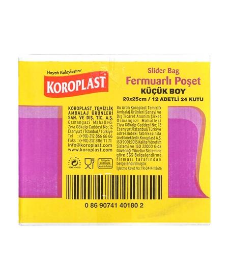koroplast, koroplast fermuarlı poşet, fermuarlı poşet, fermuarlı torba, hava geçirmez torba, hava geçirmez poşet, Koroplast Küçük Boy fermuarlı Poşet satın al, Koroplast Küçük Boy fermuarlı Poşet fiyat
