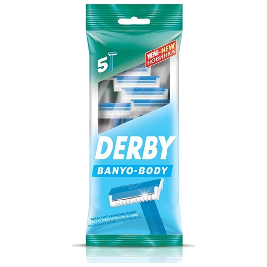 Picture of Derby Tıraş Bıçağı 5'li Poşet Banyo