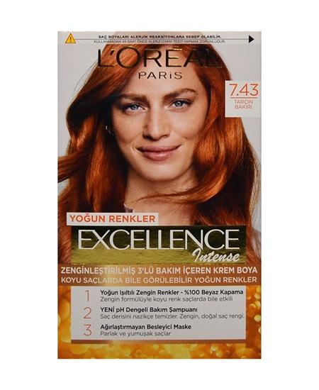 Picture of Loreal Excellence Set Saç Boyası Tarçın Bakırı No:7.43