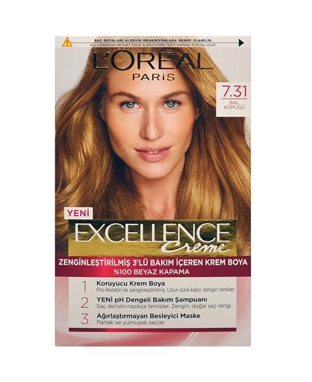 Picture of Loreal Excellence Set Saç Boyası Bal Köpüğü No:7.31