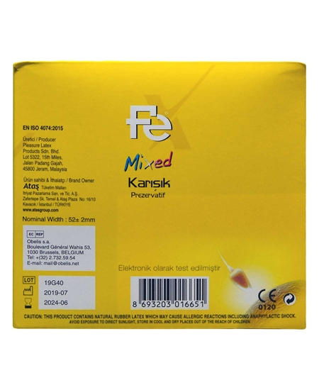 Picture of Fe Prezervatif 12'li Karışık
