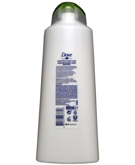 Picture of Dove Şampuan 600 ml Avokado Özlü Dökülmeye Karşı
