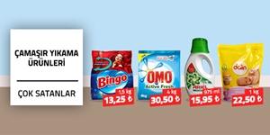 Çamaşır Deterjanları kampanya resmi