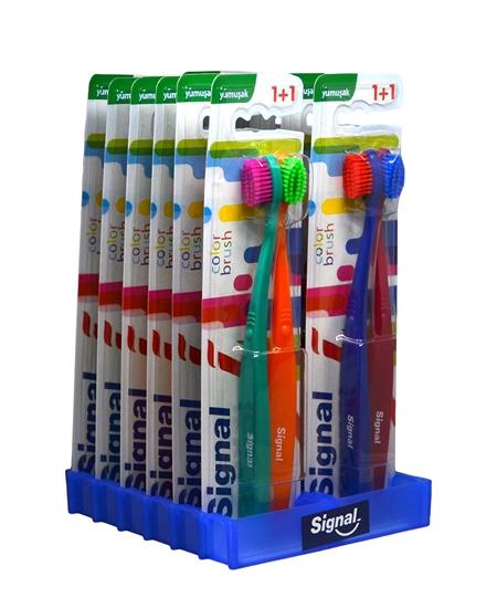signal, signal diş fırçası, fiş fırçası, signal color brust, signal diş fırçası satın al, signal diş fırçası fiyatları, toptan signal diş fırçası, signal 2li diş fırçası, yumuşak diş fırçası, ağız bakım ürünleri