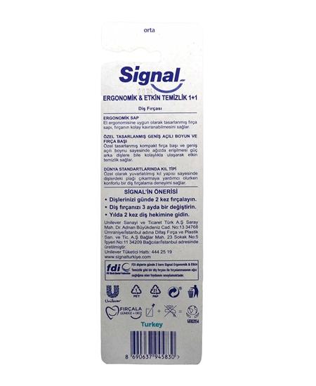 signal, signal diş fırçası, fiş fırçası, signal ergonomik, signal diş fırçası satın al, signal diş fırçası fiyatları, toptan signal diş fırçası, signal 2li diş fırçası, orta diş fırçası, ağız bakım ürünleri