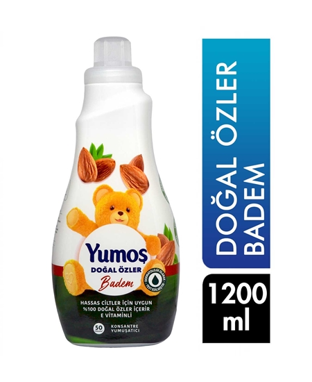 Picture of Yumoş Laundry Softener 1200 ml Natural Essences Almond