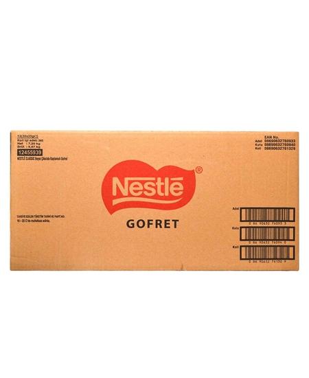 nestle, gofret, çikolatalı gofret, nestle klasik gofret, nestle gofret fiyatı, nestle gofret satın al, beyaz çikolata, beyaz çikolatalı gofret, sütlü gofret, toptan satış, toptan gıda, gıda toptancısı, bakkal toptancısı, nestle beyaz, 30lu nestle gofret