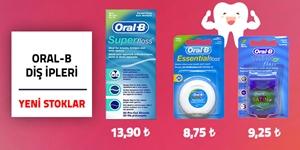 Oral-B Diş İpleri kampanya resmi