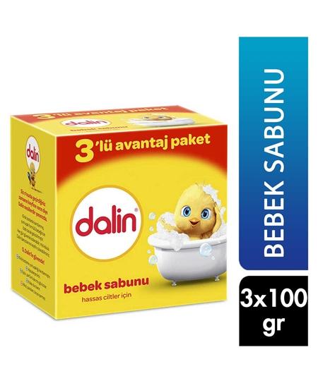 Picture of Dalin Bebek Sabunu 100 gr x 3'lü Avantaj Paketi