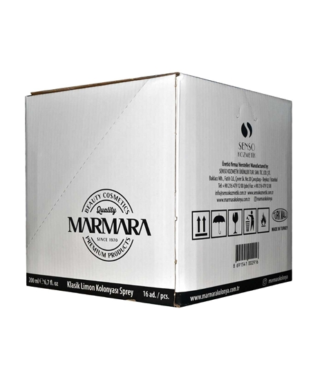 Picture of Marmara Cologne 200 ml Spray Lemon